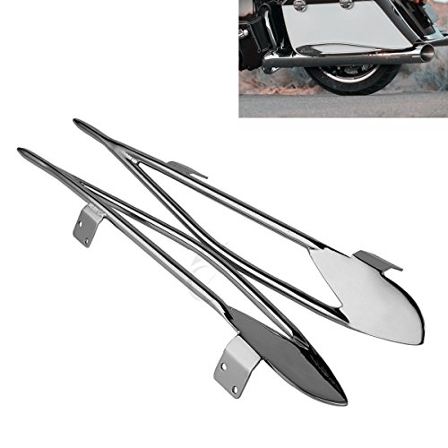 XFMT Pinnacle Saddlebag Trim Guard Rails For Indian Chieftain 2014-2018 Indian Roadmaster (Saddlebag Trim)