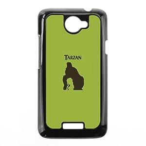 HTC One X Cell Phone Case Black af40 tarzan minimal art Tfbzk