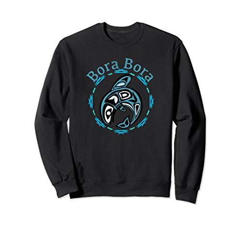 (Bora Bora T-Shirt Vintage Tribal Fish Gift Sweatshirt)