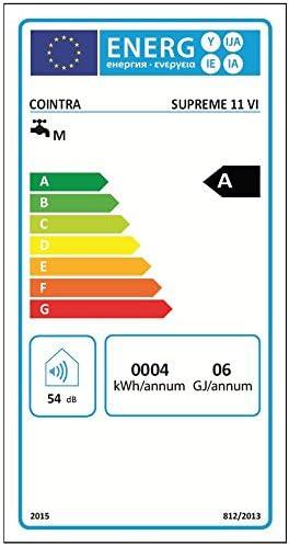 Cointra Supreme Plus/Chauffage au gaz /étanche Supreme-11vi Plus-N Classe defficacit/é /énerg/étique A