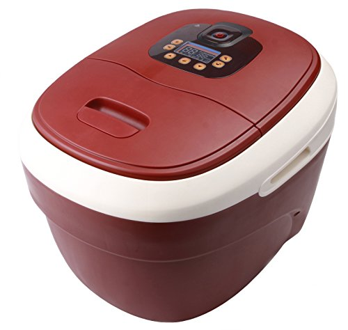 Carepeutic Ozone Waterfall Foot and Leg Spa Bath Massager, 20 Pound