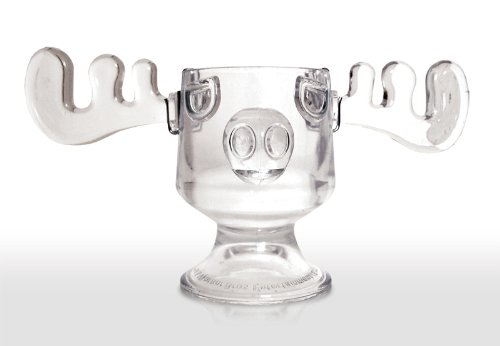 Christmas Vacation Glass Moose Mug Punch Bowl by Christmas Vacation Collectibles