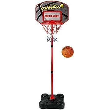 childrens kids free standing basketball net hoop backboard