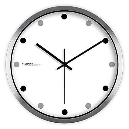zxc Wall clock Reloj Circular de Pared, Reloj de Pared silencioso, Relojes de Pared