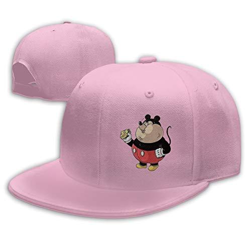 sneakers for cheap 1852c e79f9 Buecoutes Fat Anime Flat Visor Baseball Cap, Fashion Snapback Hat Pink