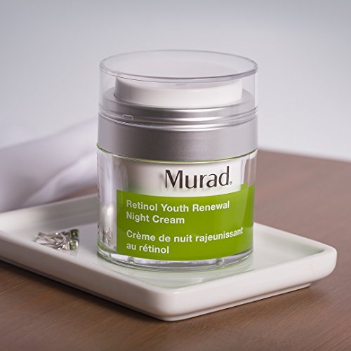 Murad Retinol Youth Renewal Night Cream - (1.7 fl oz), Breakthrough Anti Aging Night Cream with Retinol and Swertia Flower to Visibly Minimize Wrinkles and Restore Your Skin's Smooth Texture by Murad (Image #3)