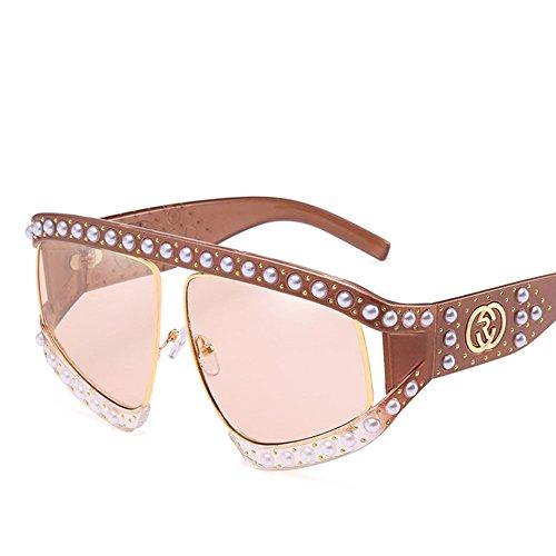 Gafas Viaje La Caja Sol Gafas De De Black Brown Gran Polarizada UV400 De Moda De Unisex Conducción Personalidad De Cq1qnPwO