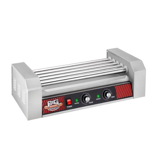 Great Northern Commercial Quality 12 Hot Dog and 5 Roller Grilling Machine, 1000-Watt by Great Northern Popcorn