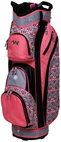Glove It Women's Golf Bag Ladies 14 Way Golf Carry Bag - Golf Cart Bags for Women - Womens Lightweight Golf Travel Case - Easy Lift Handle - 2019 Marrakesh - Mountain Putter Golf Bag