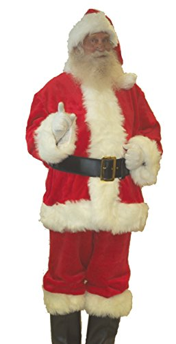 Professional Quality Plush Santa Suit (XX-Large)