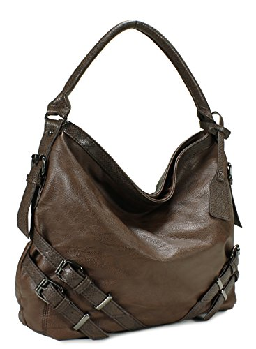 Large Hobo Scarleton H1065 S Coffee q0wdFw8