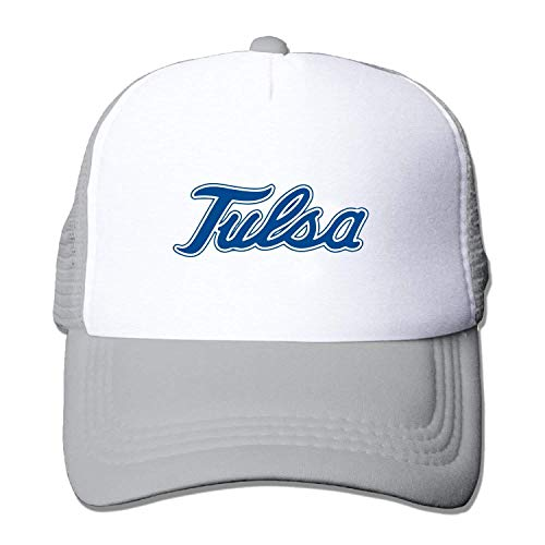 WHROOER Adult Tulsa Golden Hurricane Baseball Hat Mesh Back Trucker Cool (5 -
