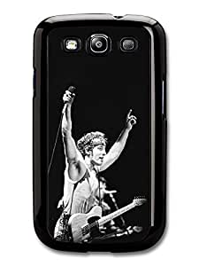 AMAF ? Accessories Bruce Springsteen Microphone Black and White case for Samsung Galaxy S3