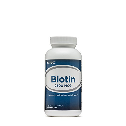 GNC Biotin 2500 mcg