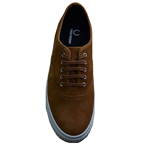 Fred Perry Men's Ginger Barson Suede Trainers