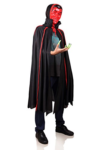 [ProEtrade Halloween Vampire Costume Cosplay With Scary Mask and Finger For Adult] (Adult Vampire Halloween Costumes)