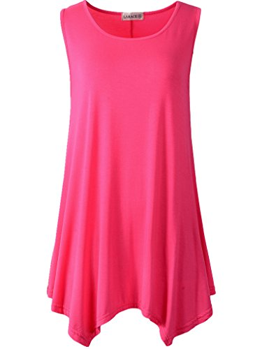 Lanmo Women Solid Summer Sleeveless product image