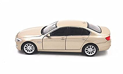 Buy 1 24 Welly Bmw 535i Diecast Model Toy Car Vehicle Golden 100