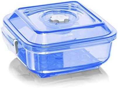 Magic vac ACO1092 Rettangolare Scatola 1.5L Trasparente i recipiente per cibo Bianco 1pezzo