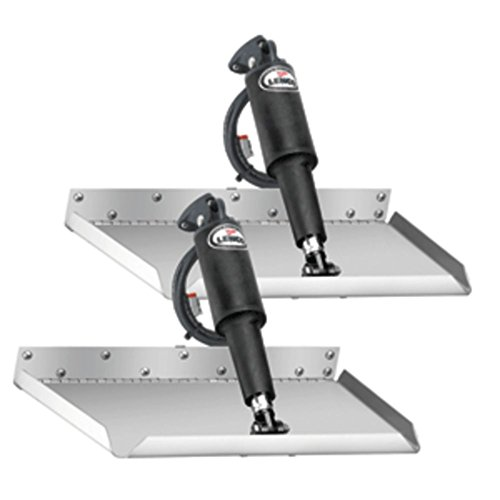 Lenco 15017-101 12 x 18 Edgemount Trim Tab Kit - 12V - No Switch Kit Marine RV Boating ()