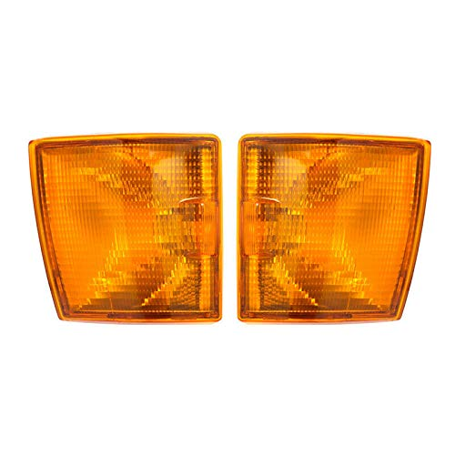 Front Corner Lights Indicator,Replacement Clear Signal Light Lamp Set (Yellow):