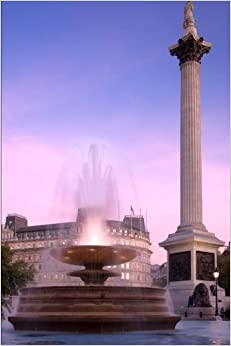 Trafalgar Square London UK Journal: 150 page lined notebook/diary