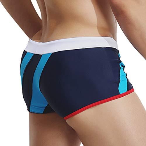 D'été Hommes Modèles Bleu Plage Ceinture Classiques Fitness Foncé Nouveau Produit Natation Pantalon Pour Mode Cordon Sauvages Estivale Vecdy tqzEaR