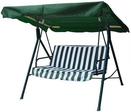 legendary-yes 76 X44 Garden Canopy Cover Top Replacement Patio Porch Park Swing Hammock Chair