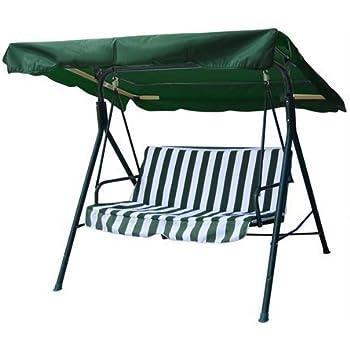 Amazon Com Cielo Blue 77 Quot X43 Quot Green Swing Canopy