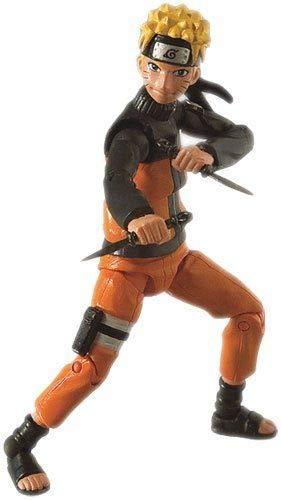 Toynami Naruto Shippuden 4-Inch Poseable Action Figure Series 1 Naruto Action Figure