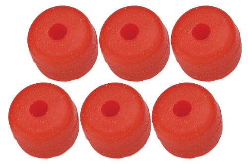Pine Ridge Archery Nitro Button (Pack of 6), Red (Buttons Pine)