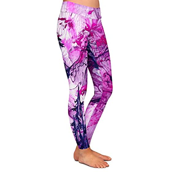 What Goes Up V Athletic Yoga Leggings from DiaNoche Designs by Julia Di Sano