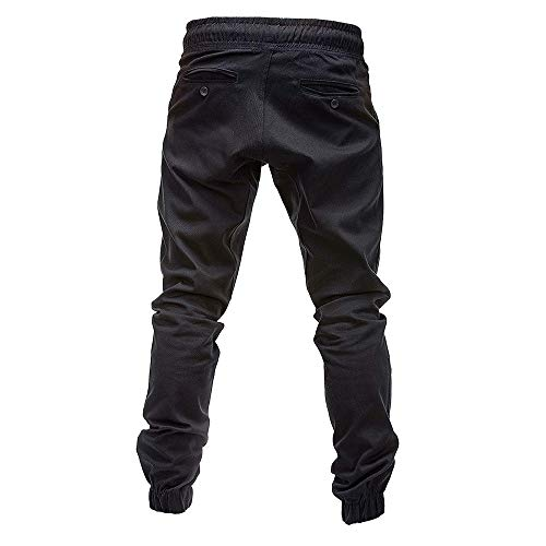 Poches Hommes Baggy Plein Joggings Xzdcdj Pantalons Survêt Élastique Sport De Casual Noir Pantalon Hng8vdw8qx