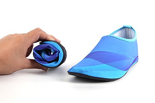 Barefoot Swim Surf HYSENM Multi Unisex Kids Water Functional Socks Yoga blue Beach Shoes Aqua Skin For BqAUIwOxq