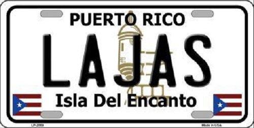 lajas-puerto-rico-metal-novelty-license-plate