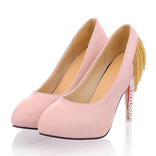 Scarpe Da Donna Con Tacco A Spillo E Tacco A Spillo Stile Rosa
