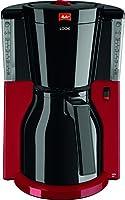 Melitta 101118 Look Therm Selection Kaffeemaschine Aromaselector Thermkanne, rot