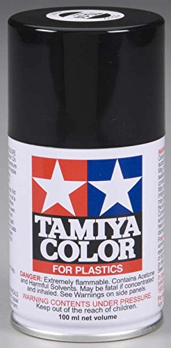 (Lacquer Spray Paint Can TS14 Black 3 oz)