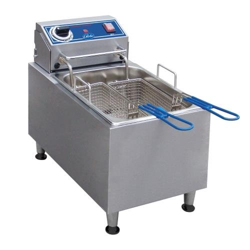Globe Food Equipment Countertop S/S Electric 16-Lb. Capacity