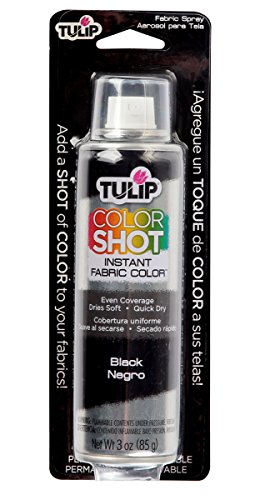 3 Arm Tulip - Tulip ColorShot Instant Fabric Color 3oz. Black