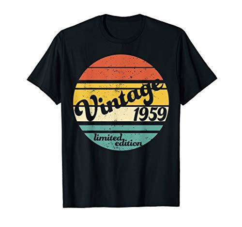60th Birthday Shirt Vintage 1959 Classic Funny Gift  TShirt