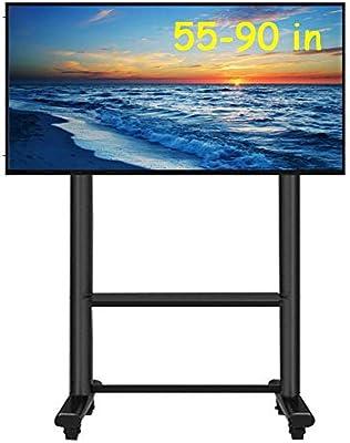 Soporte TV Trole Carro de TV de servicio pesado para 55 60 65 70 75 80