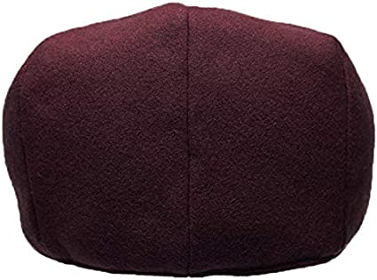 Classic Mens Flat Hat Wool Newsboy Herringbone Tweed Driving Cap