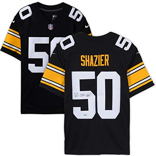 Ryan Shazier Pittsburgh Steelers Autographed Black Nike Limited Jersey - Fanatics Authentic Certified ()