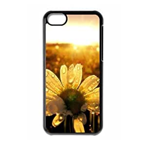 Sunflower The Unique Printing Art Custom Phone Case for Iphone 5C,diy cover case ygtg563038 by icecream design