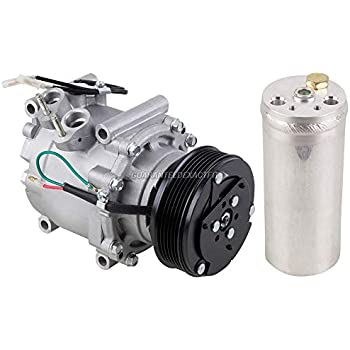 AC Compressor w/A/C Drier For Honda Civic 2001 2002 - BuyAutoParts 60-86036R2 NEW