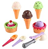 Liberty Imports Sweet Treats Ice Cream Parlor Fast Food Play Set Toy for Kids