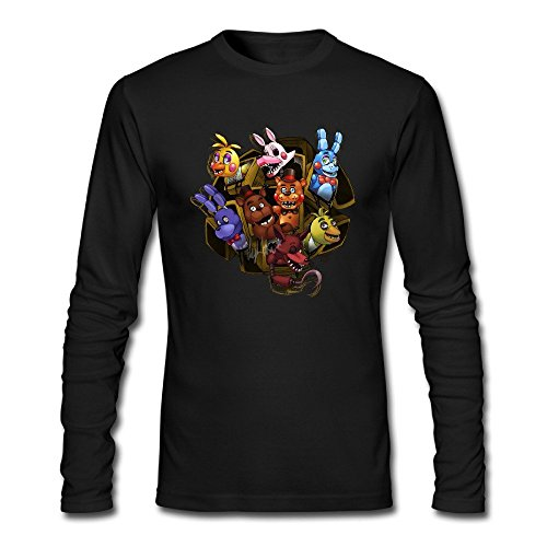 Play Five Nights At Freddy's 4 Halloween (LALAYAY Men's Five Nights At Freddy Long Sleeve T)