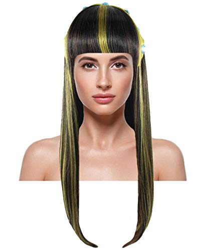 Wig for Cosplay Monster High Cleo De Nile HW-1874 -