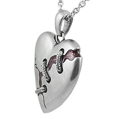 Controse Collar de corazón Roto Cure for A: Amazon.es: Joyería